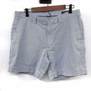 Polo Ralph Lauren Blue White Striped Shorts